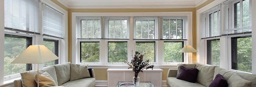 fenêtres PVC à double vitrage