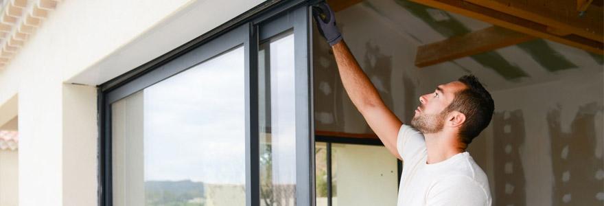 Portes fenêtres coulissantes