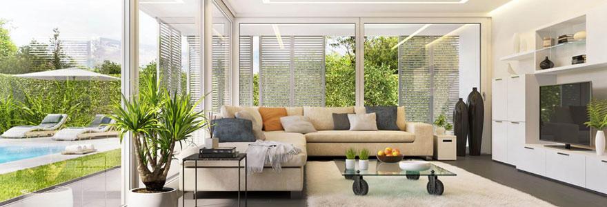 Des baies vitrées et des fenêtres de haute qualité